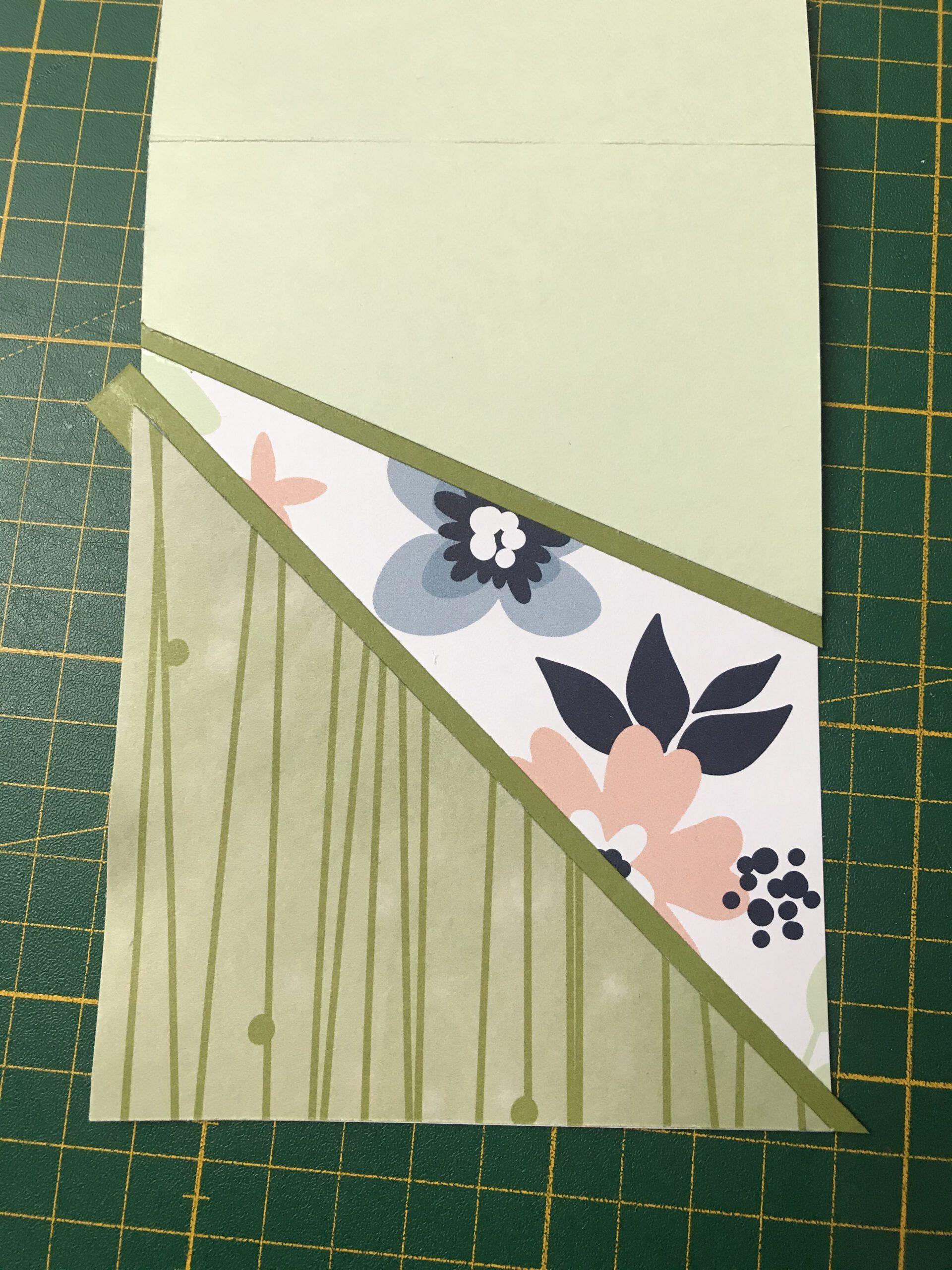 Panel-Card - Papierblüten