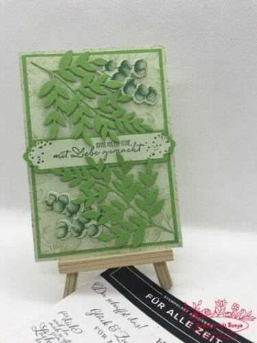 Resteverwertung - Für alle Zeit - Geburtstagskarte