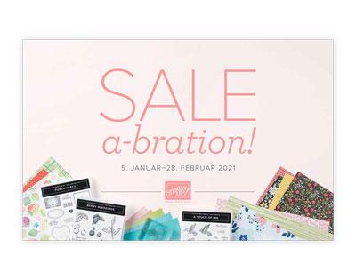 Stampin UP Sale-A-Bration