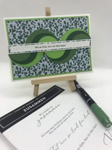 Reste grün