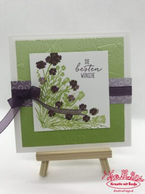 Grußkarte Corner Bouquet
