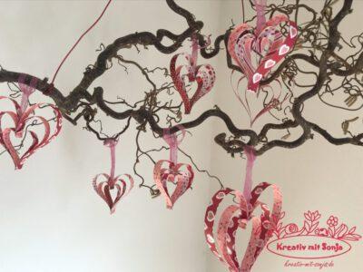 Muttertag Zweig mit Herz